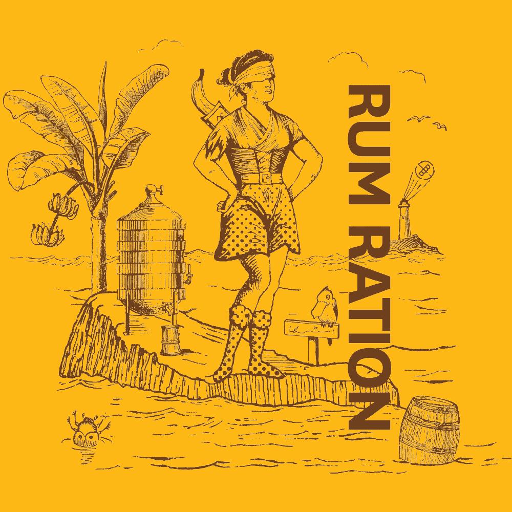 Rum Ration Illustration