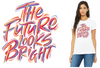AFLW GENW Tee - Womens / THE FUTURE LOOKS BRIGHT