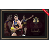 Lachie Neale 2020 Signed Brownlow Medal Lithograph