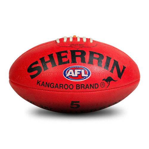 Sherrin Pvc Replica Red Sz5