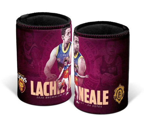Lachie Neale 2020 Brownlow Can Cooler