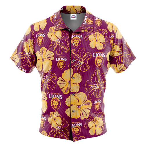 Hawaiian Shirt - Hibiscus