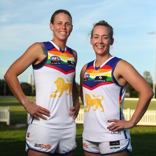 2021 AFLW Pride Guernsey - Player Issue