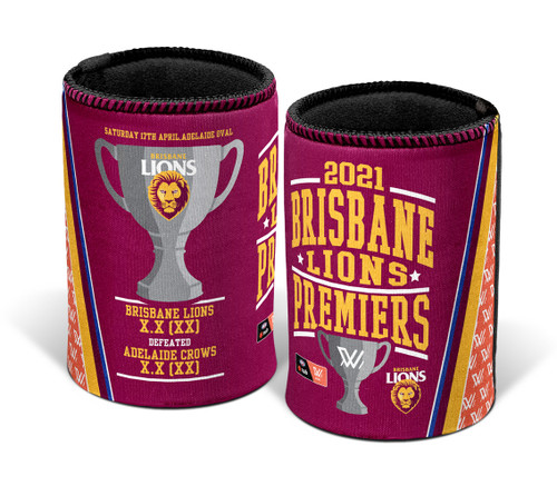 202 1AFLW Premiership Can Cooler