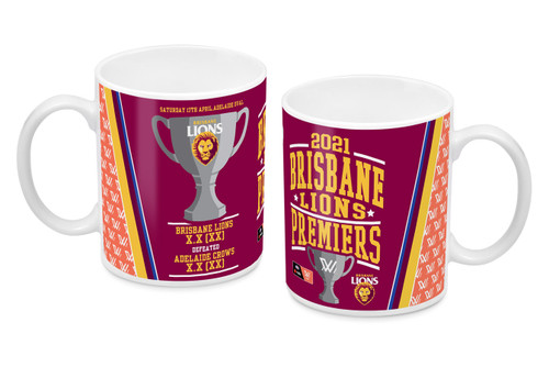 2021 AFLW Premiership Coffee Mug