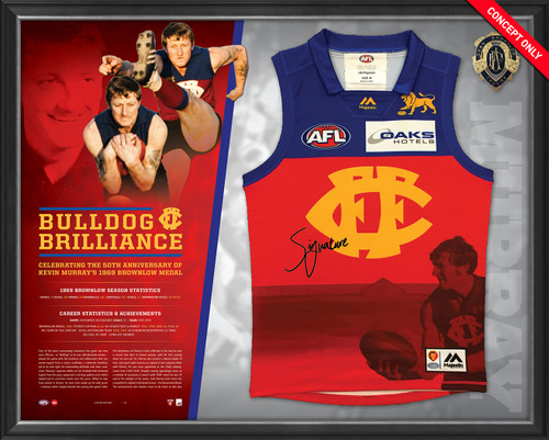 Bulldog Brilliance Kevin Murray Signed Guernsey