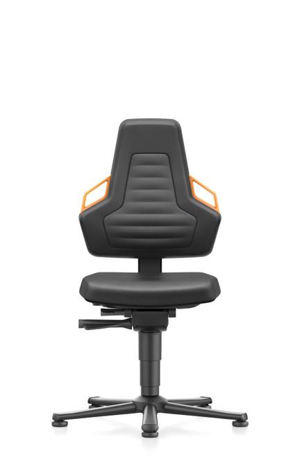 Bimos Nexxit 1 workplace ergonomic chair with Orange Handle