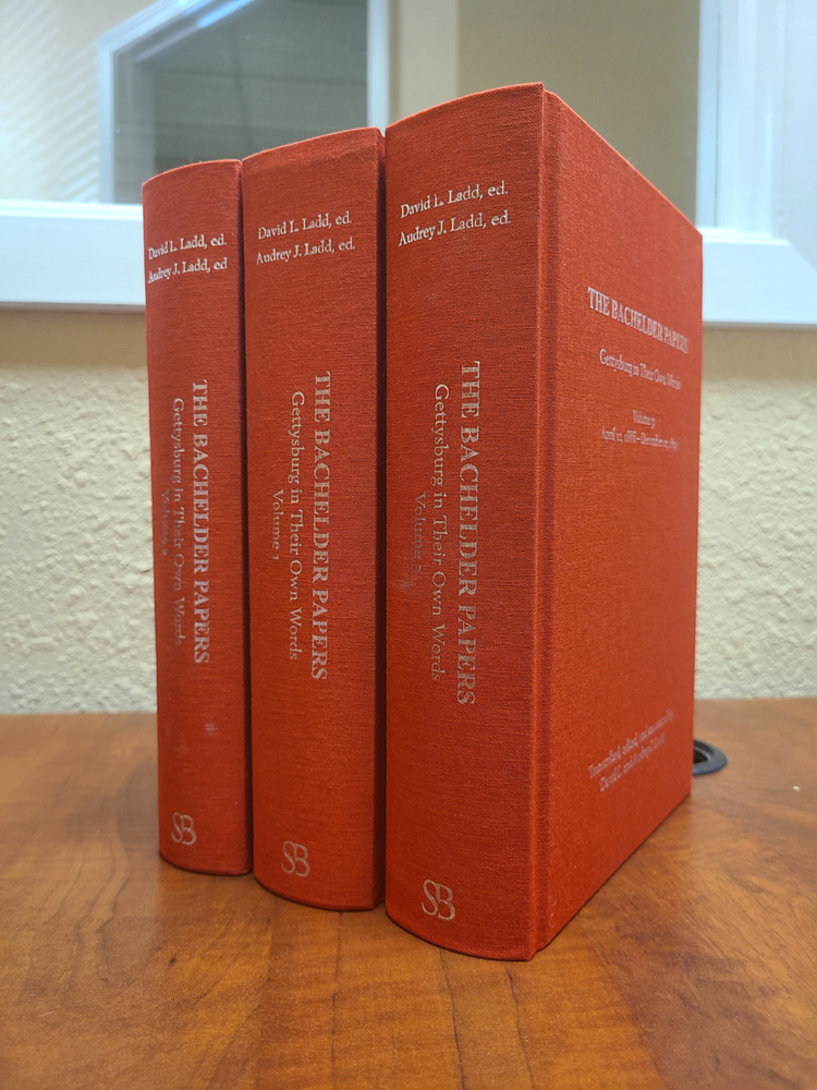 The Bachelder Papers: Gettysburg in Their Own Words (3 vols.) Red & Silver Edition