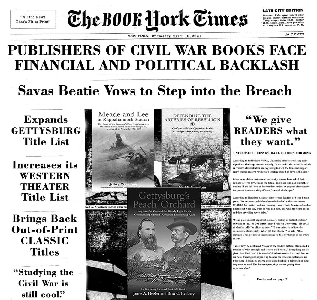 Publishers Avoiding Civil War Books?