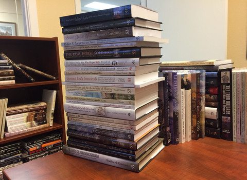How high's the book stack, Reader?