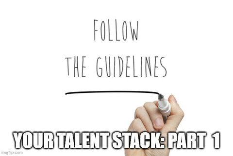 YOUR Talent Stack: Part 1