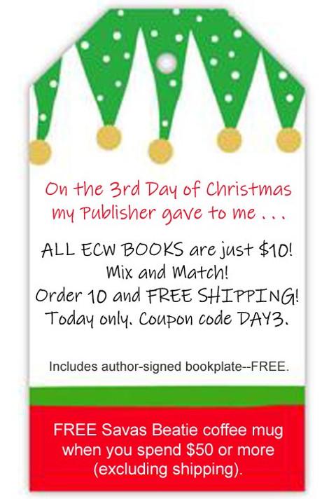 Day 3 of the Savas Beatie Christmas--10-buck ECW books!