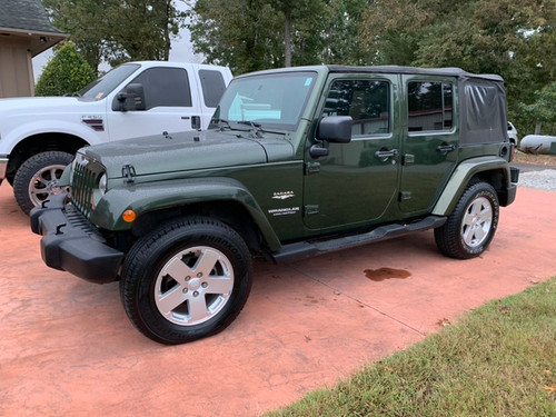 2007 Jeep Wrangler Sahara Unlimited
