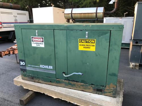 Kohler 20 KW Natural Gas Generator