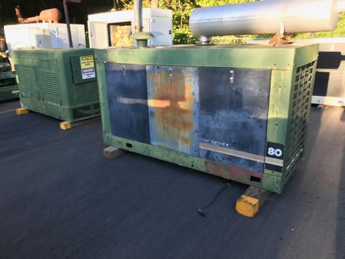 Kohler 80 KW Natural Gas Generator