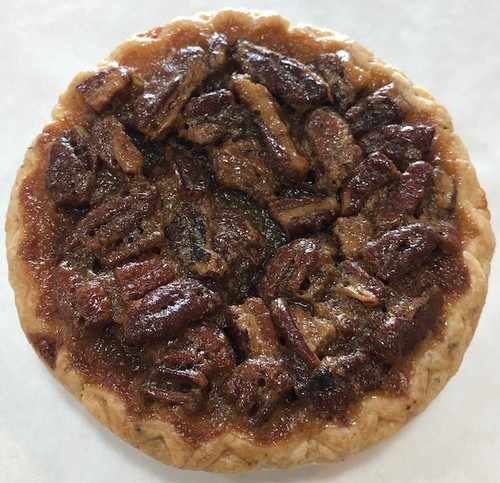 The perfect mix of light and dark corn syrup, premium European style butter, pure extracts and Georgia pecans create an incredible filling.  Each pie (10) is individually packaged to ensure freshness.