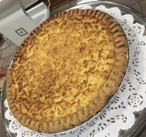 "10"" Buttermilk Coconut Pie"