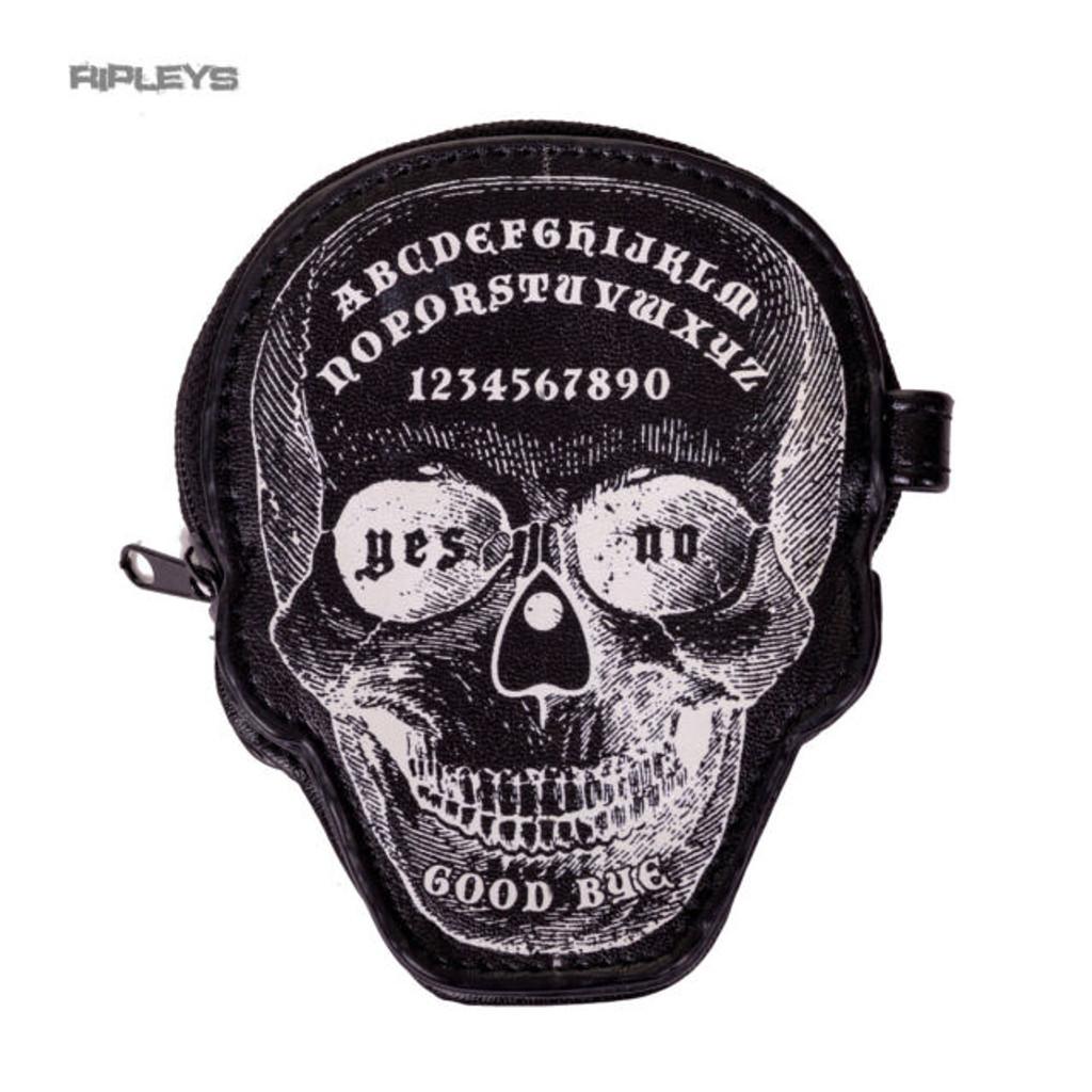 Skull coin purse