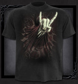 Rock salute T-shirt