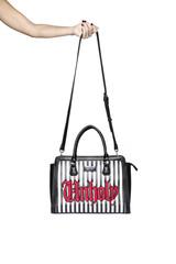 Black Cult Unholy Stripe - Large Handbag