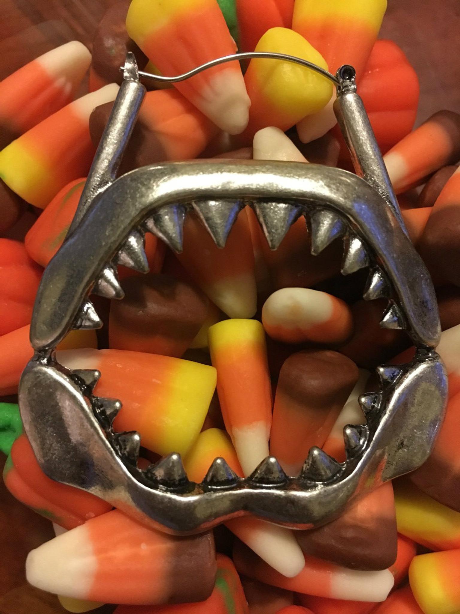 Shark earings