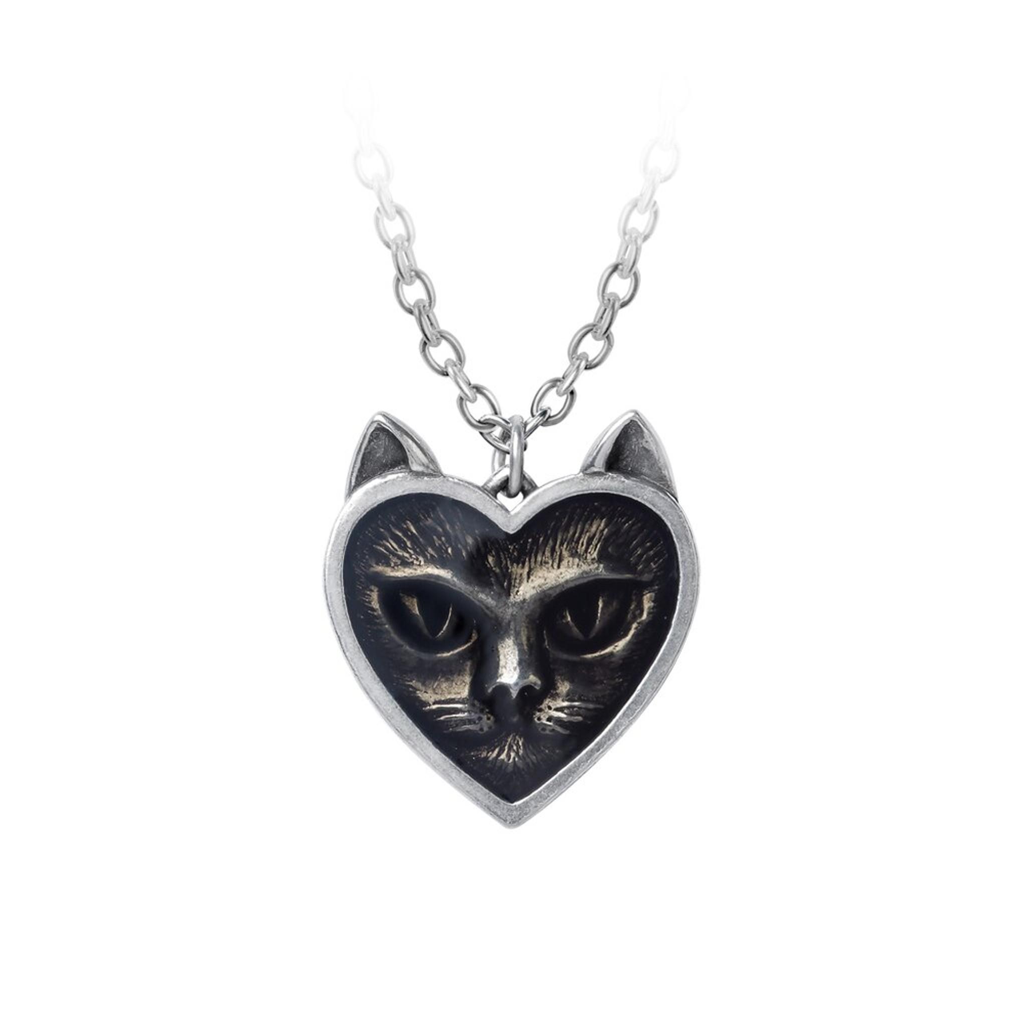 Love Cat Pendant - Alchemy of England