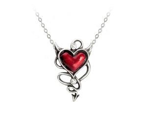 Devil Heart Pendant