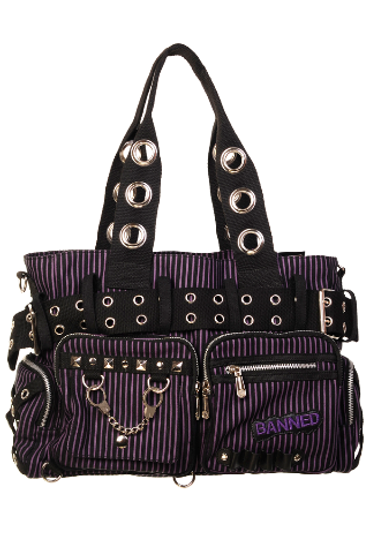 Handcuff Bag - Purple