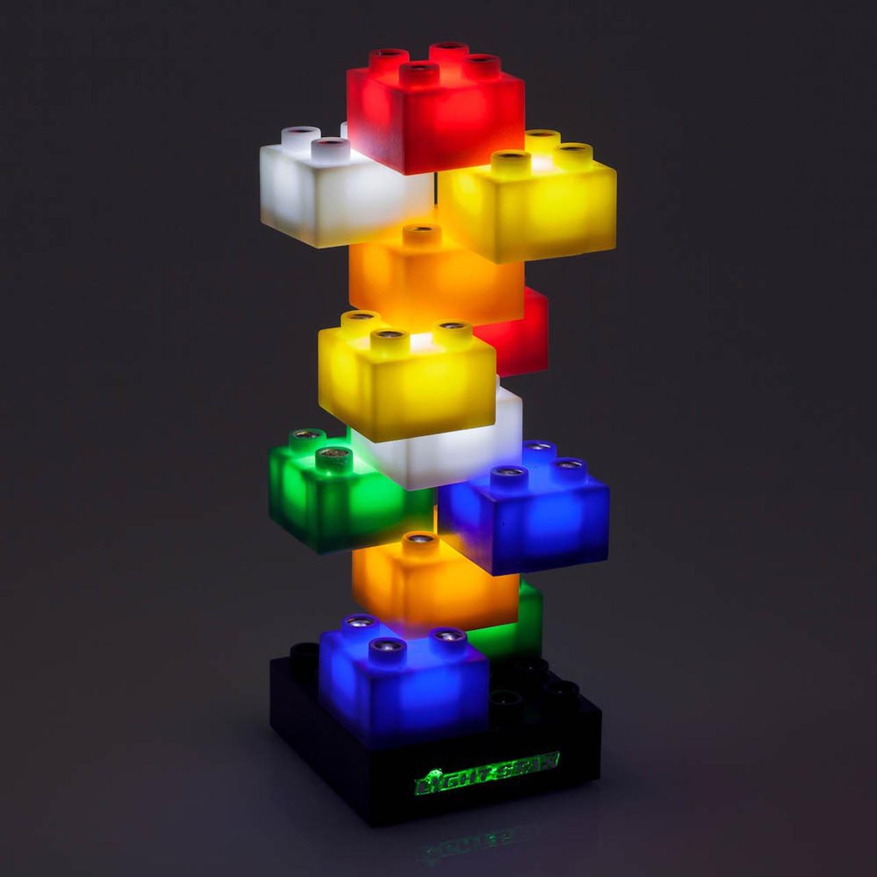 LIGHT STAX Illuminated Blocks Mega Set 102 Pc