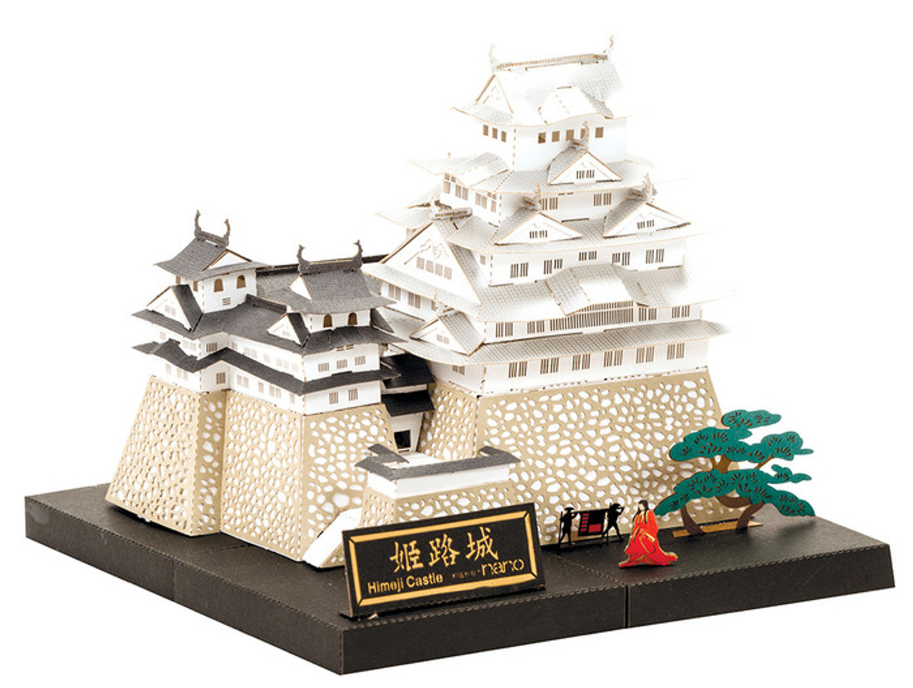 Nanoblock Paper Nano Himeji Castle Model Kit