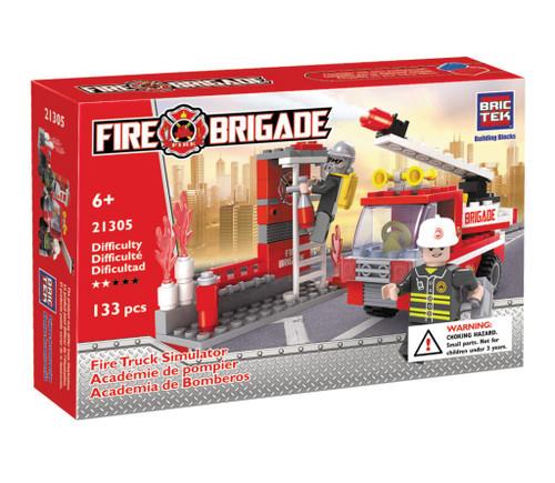 Fire Truck Simulator BricTek