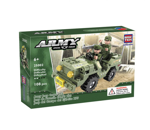 Army Jeep Corps 275 BricTek