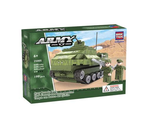 Army Bazooka Tank BricTek