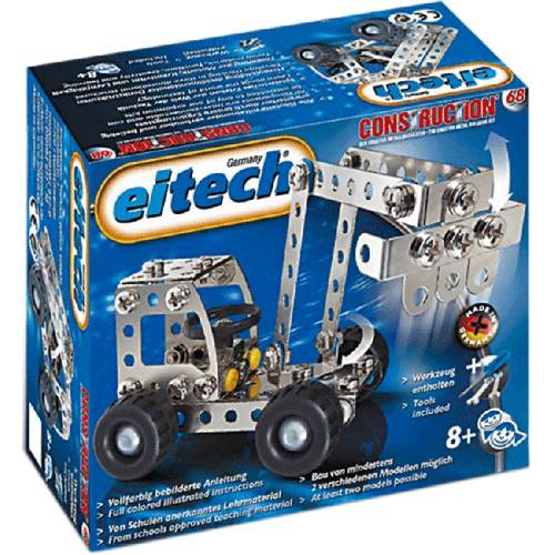 Digger and Truck Construction Set Eitech