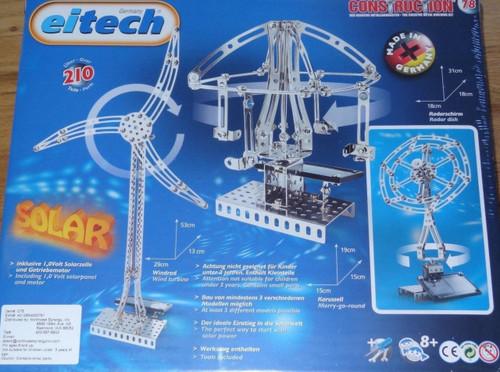 Deluxe Solar Construction Set Eitech