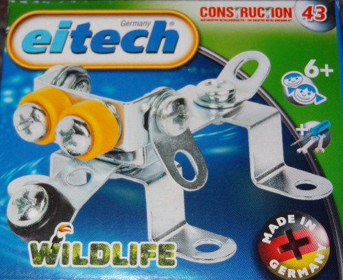 Wildlife Dog Construction Set Eitech