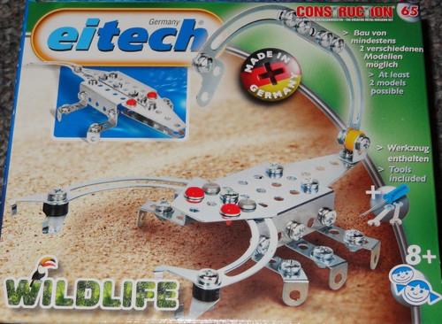 Wildlife Scorpion/Crocodile Construction Set Eitech