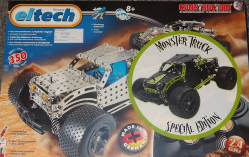 Special Edition Monster Truck Construction Set Eitech