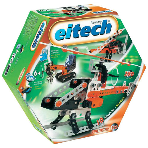 Beginner 10 Model Construction Set Eitech
