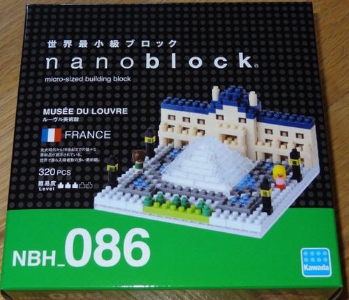 Mussee Du Louvre Nanoblock