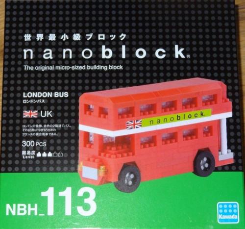 London Bus Nanoblock