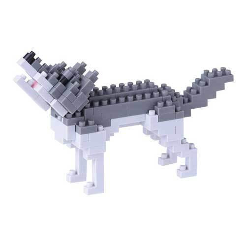 Gray Wolf Nanoblock