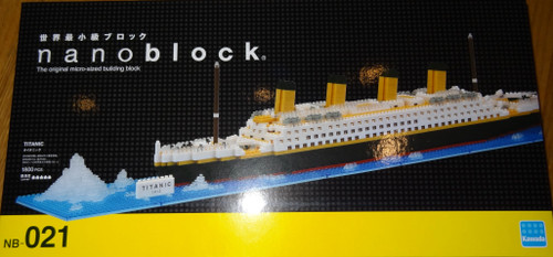 Titanic Nanoblock