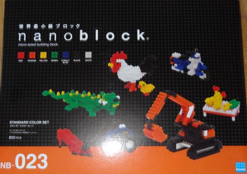 Standard Color Set Nanoblock