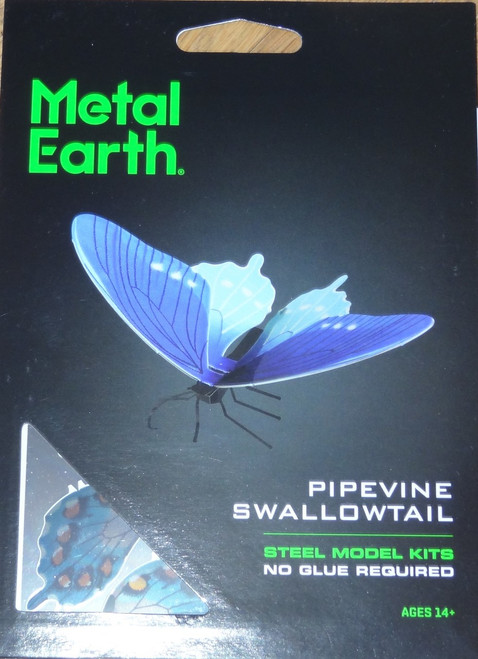 Pipevine Butterfly Metal Earth