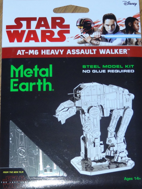 AT-M6 Heavy Assault Walker Star Wars Metal Earth