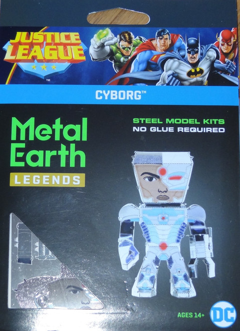 Cyborg Metal Earth Legends