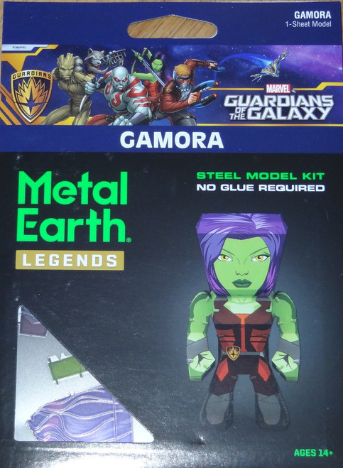 Gamora Metal Earth Legends