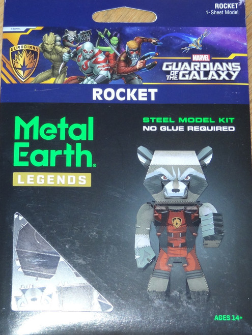 Rocket Metal Earth Legends