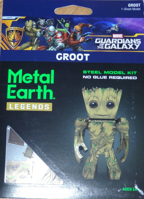 Groot Metal Earth Legends